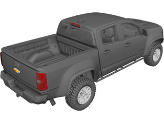Chevrolet Colorado ZR2 (2017) 3D Model