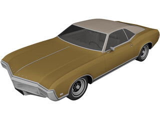 Buick Riviera (1969) 3D Model 3D Preview