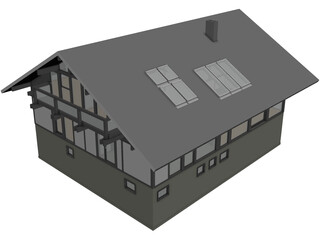 Vacation Home 3D Model