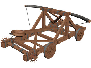 Catapult 3D Model 3D Preview