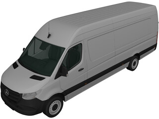 Mercedes-Benz Sprinter (2019) 3D Model