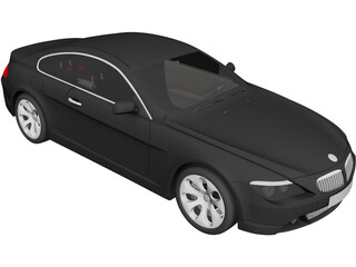 BMW 645Ci (2004) 3D Model 3D Preview