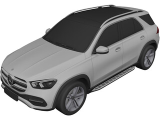 Mercedes-Benz GLE (2020) 3D Model