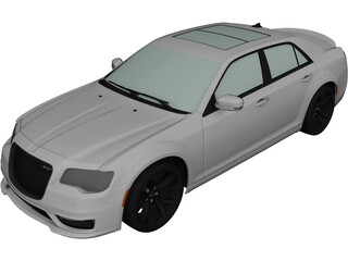 Chrysler 300 SRT LX2 (2018) 3D Model