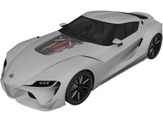 Toyota Supra FT-1 Concept 3D Model