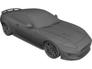 Jaguar XK 3D Model