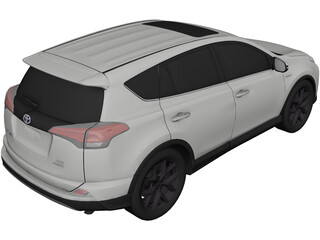 Toyota RAV4 (2019) 3D Model