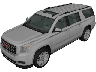 GMC Yukon XL (2014) 3D Model