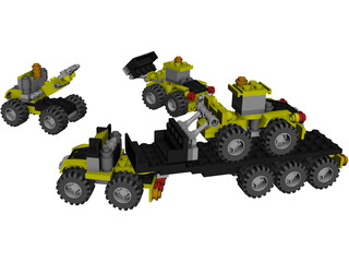 Lego Creator 3in1 #5761 3D Model 3D Preview