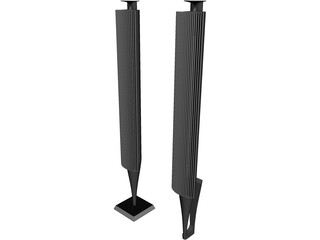 Bang&Olufsen Beolab 18 Speakers 3D Model