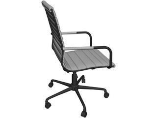 Cadeira Seattle Home Office Chair 3D Model