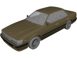 Nissan Laurel C33 (1991) 3D Model