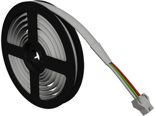 LED Reel CAD 3D Model