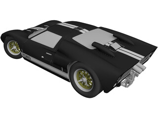 Ford GT40 3D Model