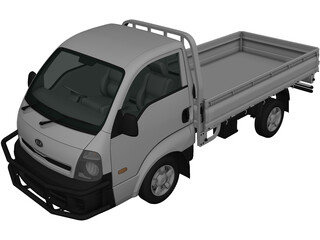 Kia K2700 Bongo Simple Cab (2014) 3D Model