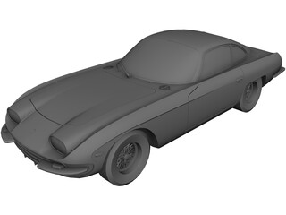 Lamborghini 350GT (1964) 3D Model