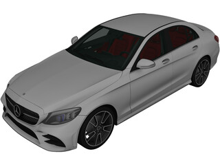 Mercedes-Benz C-Class (W205) (2018) 3D Model