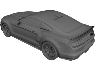 Ford Mustang GT500 Eleanor (2015) 3D Model