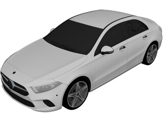 Mercedes-Benz A-Class Sedan  [W177] 3D Model