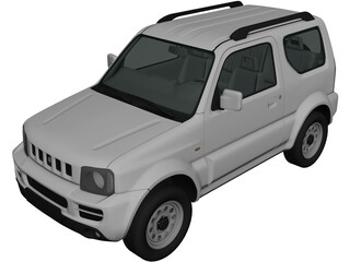 Suzuki Jimny (2012) 3D Model 3D Preview