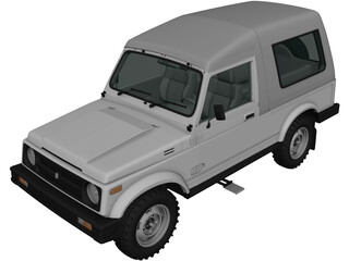 Suzuki Gypsy (2016) 3D Model