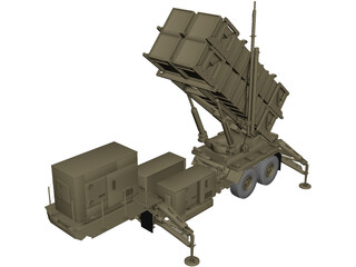 Patriot MIM-104 3D Model
