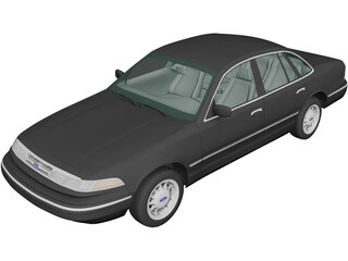 Ford Crown Victoria (1995) 3D Model