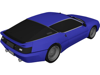 Renault Alpine (1990) 3D Model
