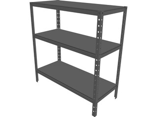 Basement Rack 3D Model