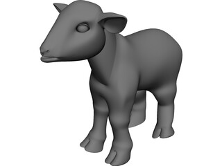 Little Lamb 3D Model