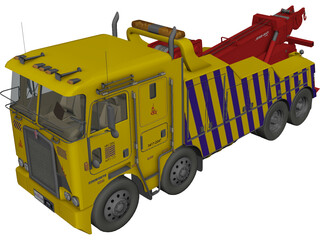 Kenworth Wrecker K100 3D Model