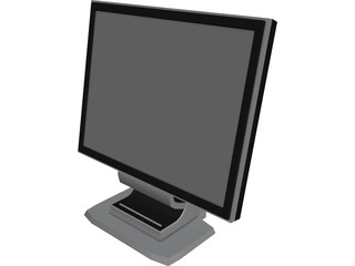 Acer LCD Monitor 3D Model 3D Preview