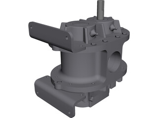 Roots Blower 3D Model 3D Preview