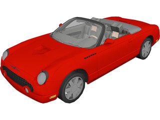 Ford Thunderbird 3D Model
