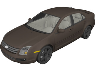Ford Fusion 3D Model