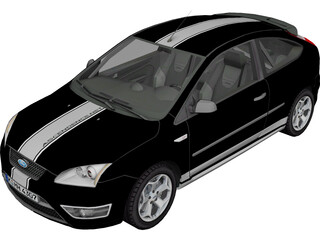 Ford Focus ST (2005) 3D Model
