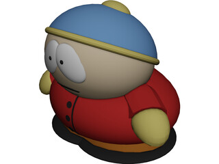 South Park Cartman 3D Model