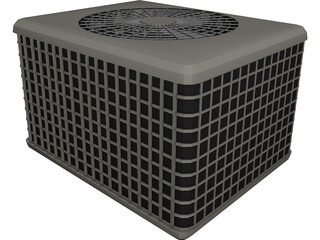 Air Conditioner 3D Model 3D Preview