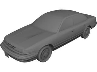 Ford Crown Victoria (1996) 3D Model