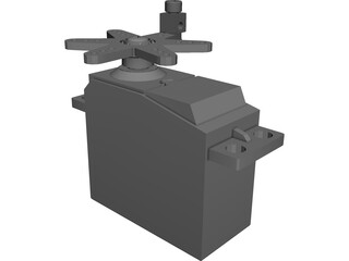 RC Servo Futaba 3003 3D Model