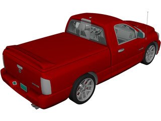 Dodge Rm SRT10 (2006) 3D Model