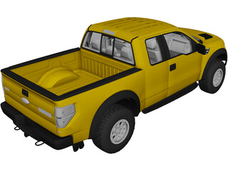 Ford SVT Raptor (2014) 3D Model