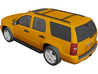 Chevrolet Tahoe (2008) 3D Model