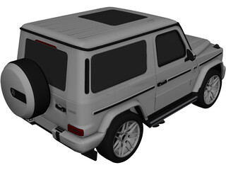 Mercedes-Benz G63 Coupe (2019) 3D Model