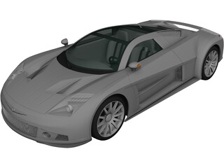 Chrysler ME 4-12 Concept (2004) 3D Model