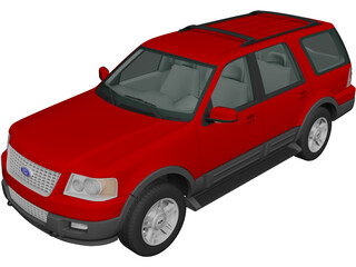 Ford Expedition (2003) 3D Model