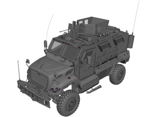 International MaxxPro 3D Model
