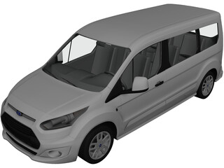 Ford Tourneo Connect (2014) 3D Model