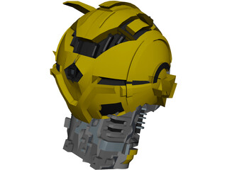 Bumblebee Head 3D Model