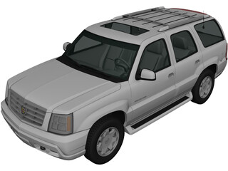 Cadillac Escalade (2002) 3D Model